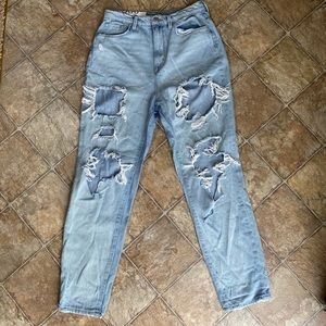 Urban Outfitters BDG bf high waisted ripped jeans
